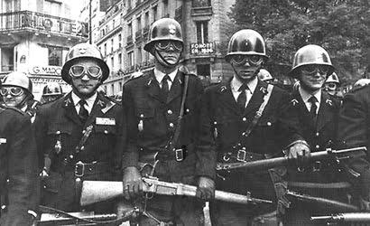 Histoire des forces françaises anti émeute