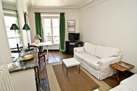 pet friednly vacation apartment in paris