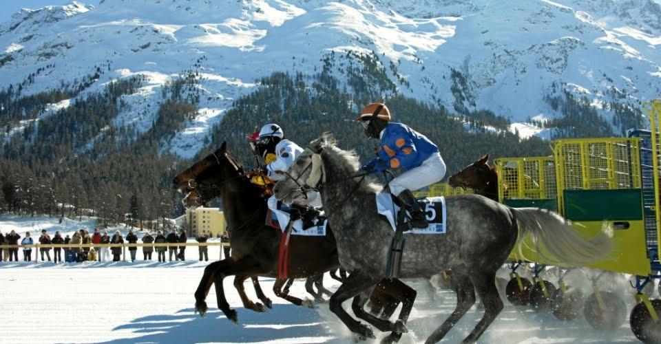 Spise Og Rejse St Moritz Schweiz Og Fondue Bourguignonne