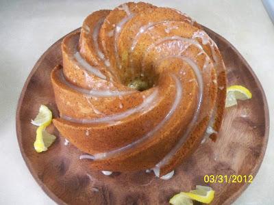 Swedish Cardamom Bundt Cake