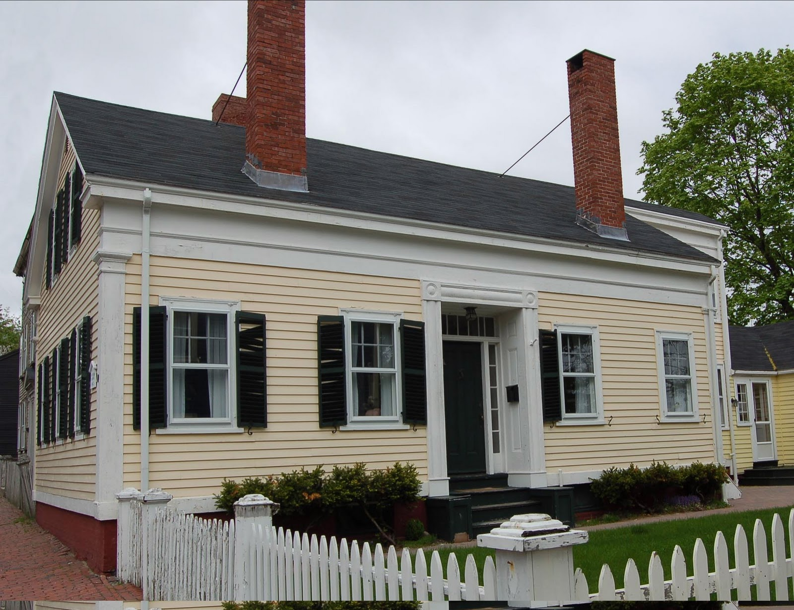 the old house blog the greek revival america 39 s first. Black Bedroom Furniture Sets. Home Design Ideas