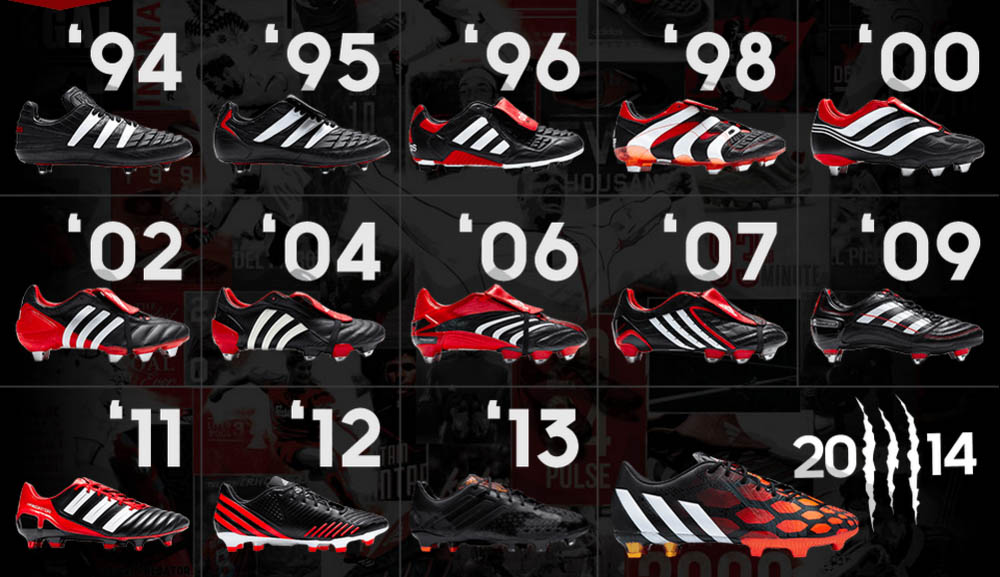 adidas soccer shoes history info