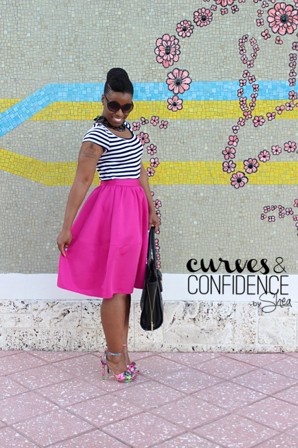 curves and confidence, how curvy girls dress, miami style blogger