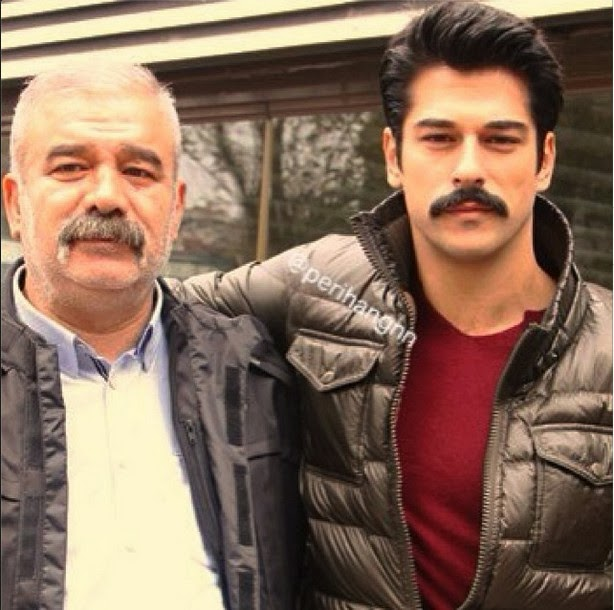Photo of Burak Özçivit & his  Father  Ceyhan Ozcivit