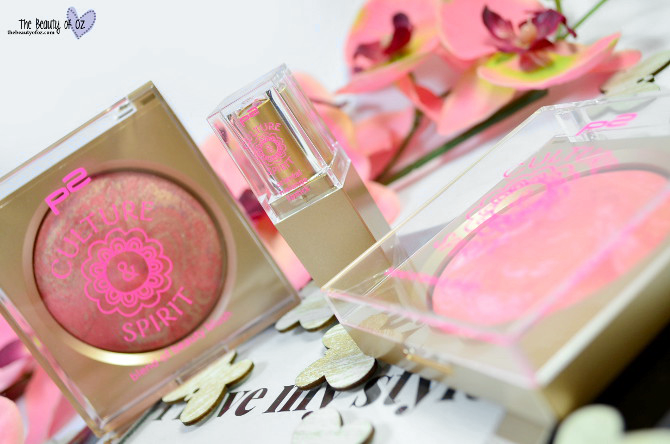 Review p2 Culture & Spirit Blushes + Lippenstift