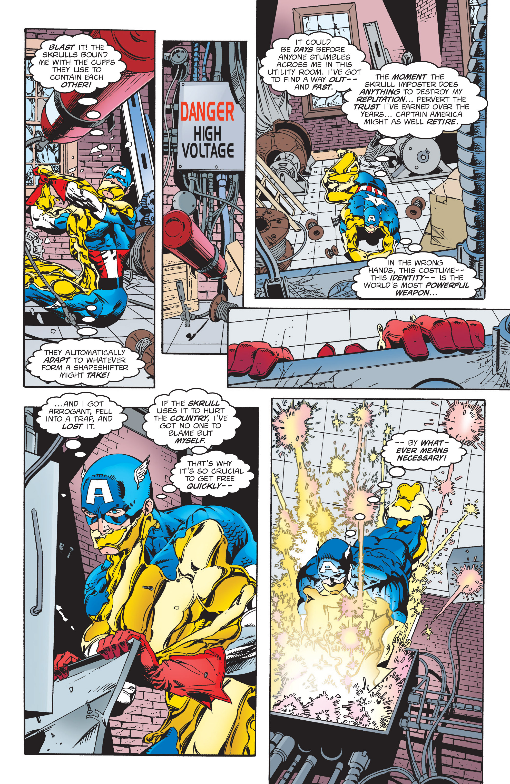 Captain America (1998) Issue #6 #9 - English 6