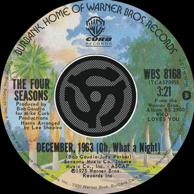 December, 1963 (Oh, What a Night) - Wikipedia