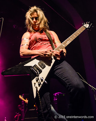 L7 at The Danforth Music Hall September 6, 2015 Photo by John at One In Ten Words oneintenwords.com toronto indie alternative music blog concert photography pictures