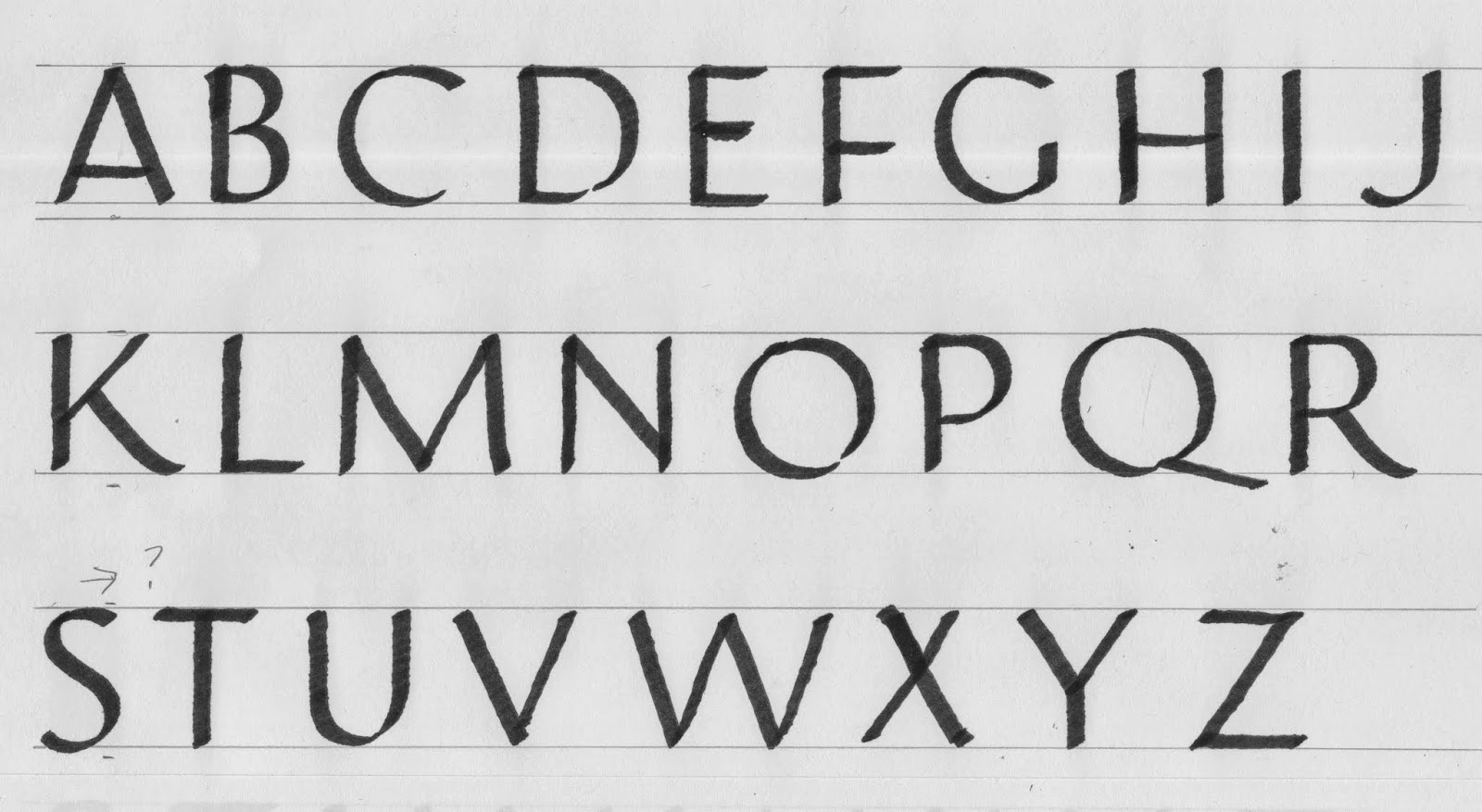 Margaret Shepherd Calligraphy Blog 241 Raised Roman