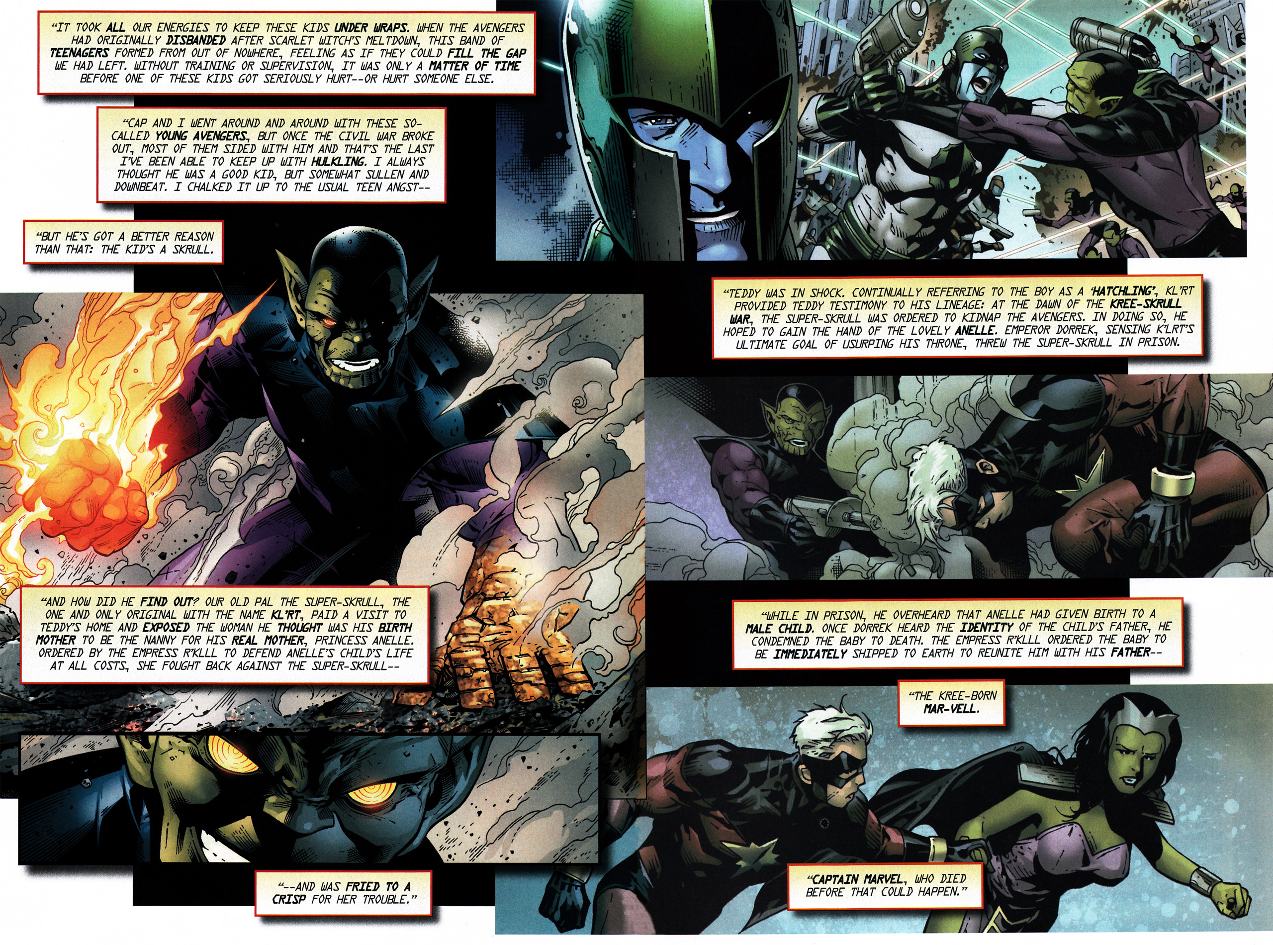 Read online Secret Invasion Saga comic -  Issue # Full - 21