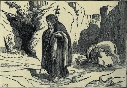 omnium sanctorum hiberniae  feast of st  anthony of egypt