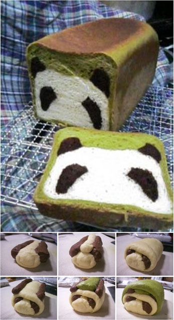 Panda Bread | Cook'n is Fun - Food Recipes, Dessert ...