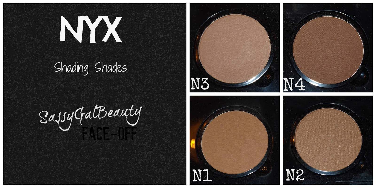 NYX Shading Shades