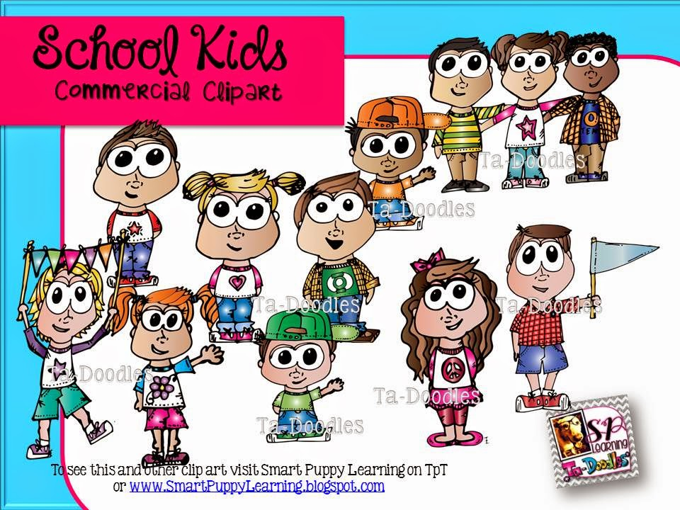 http://www.teacherspayteachers.com/Product/School-Kids-Commercial-Clip-Art-1356220
