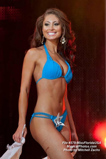 Karina Baez Swimsuit - Miss Florida USA 2012