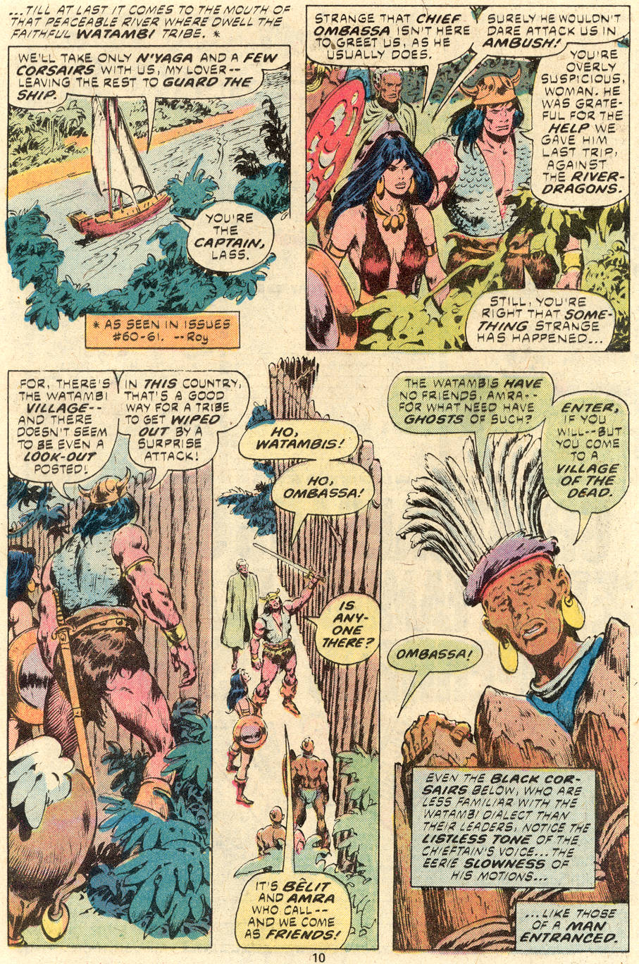 Conan the Barbarian (1970) Issue #94 #106 - English 7