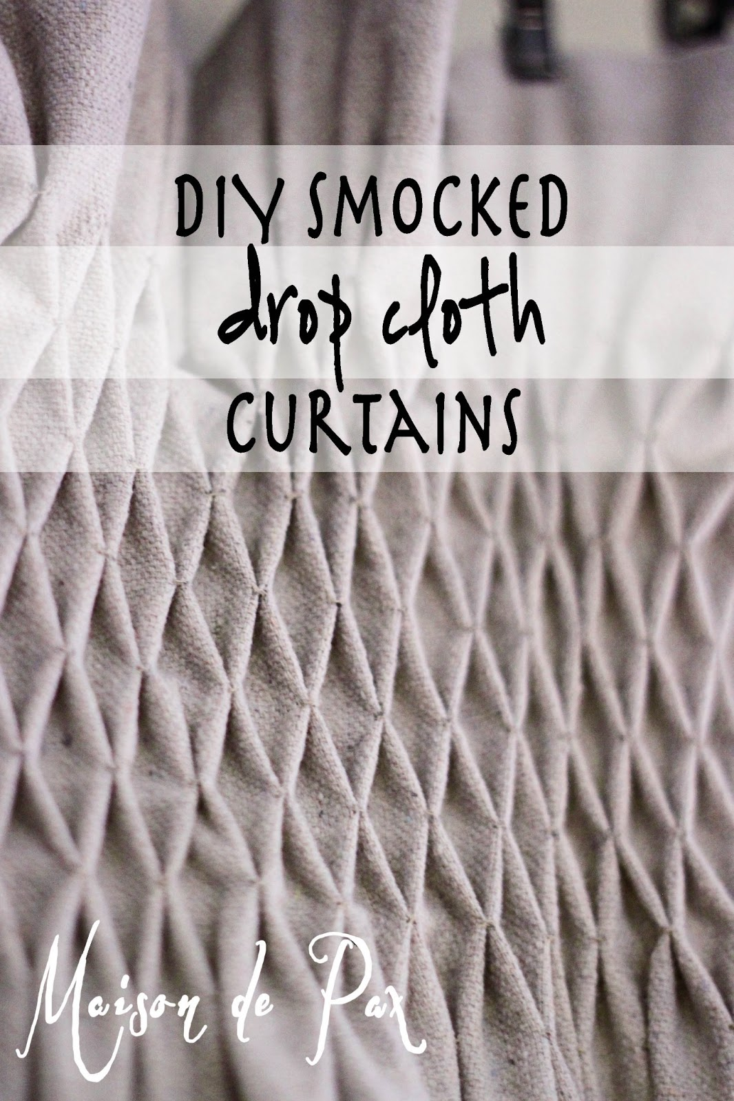 projects fabulous burlap home diy beautify smocked decor curtains