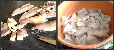 Calamari al profumo di zenzero prepariamo i calamari
