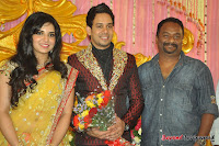 Celebraties at Actor Bharat n Jessy Wedding Reception Photos+%25283%2529 Actor Bharath n Jessy Wedding Photos