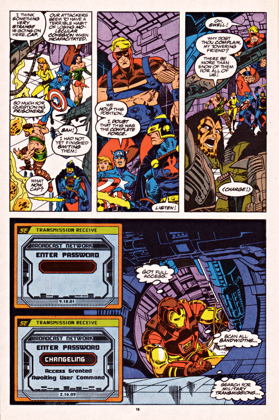 Captain America (1968) Issue #398f #336 - English 13