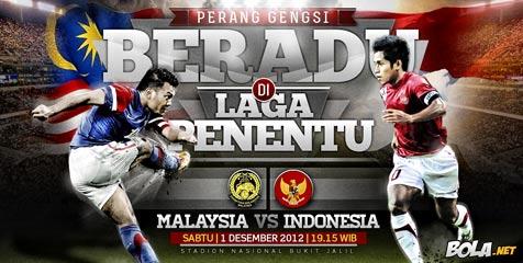 Prediksi Skor Indonesia vs Malaysia AFF CUP 2012