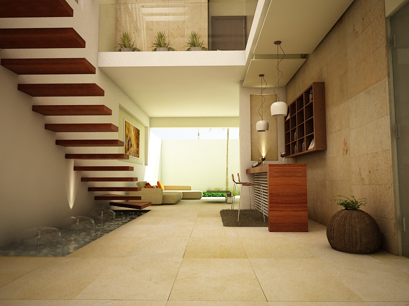 Proyectos arquitectonicos y dise o 3 d dise o interior for Diseno de casa habitacion