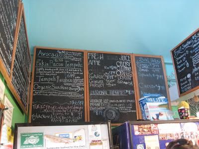 Chalkboard Menu - Cape Cod Veega