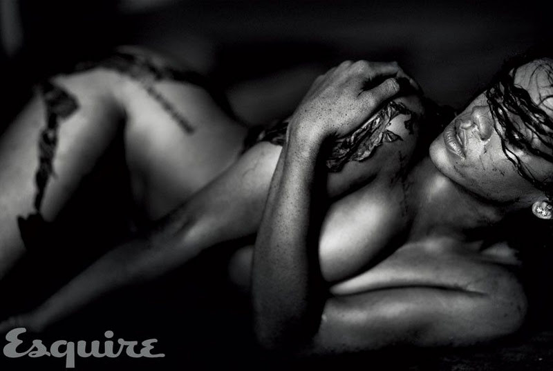 Rihanna Hot Nude Wallpapers For Esquire Magazine