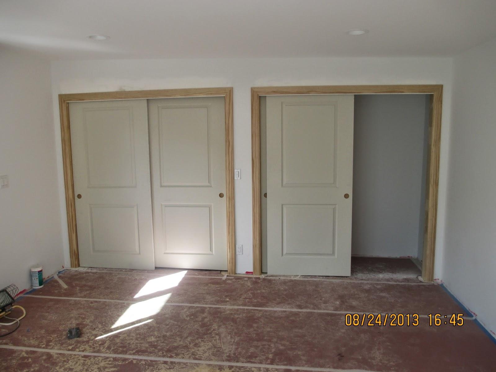 Superbe Door Hanging And Stain Grade Trim Work * Last Summer 2013 *