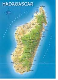 Carte de Madagascar