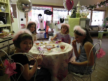 The lovely Tea Parties!