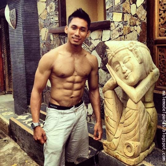 exotic male model bali dedy sanjaya