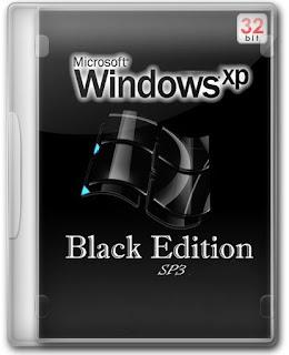Windows XP Professional SP3 Black Edition 32-bit 2015