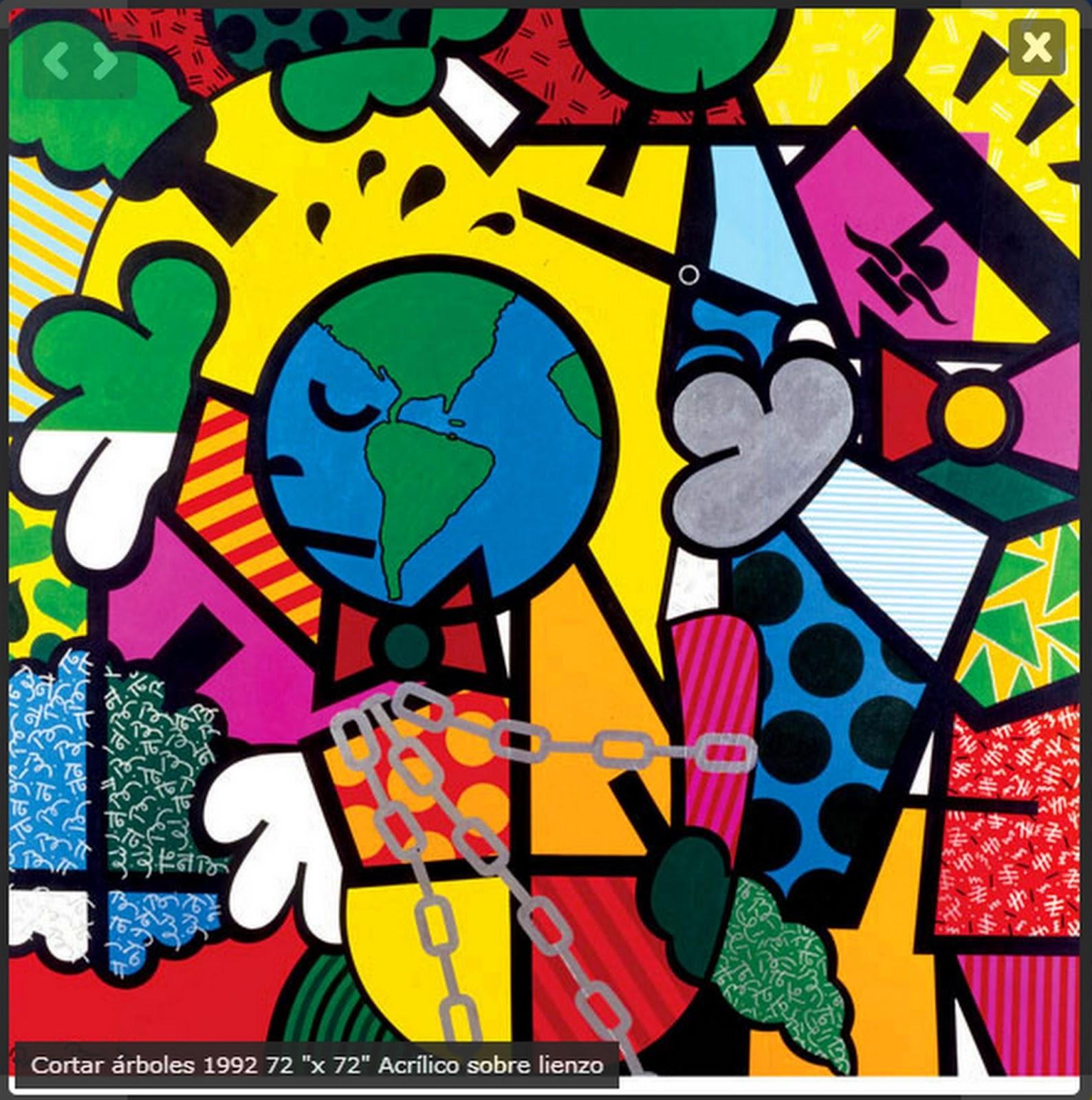 Im genes arte pinturas pinturas divertidas y modernas de for Imagenes cuadros modernos