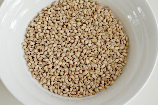Milk and Honey: Mediterranean Eggplant and Barley Salad