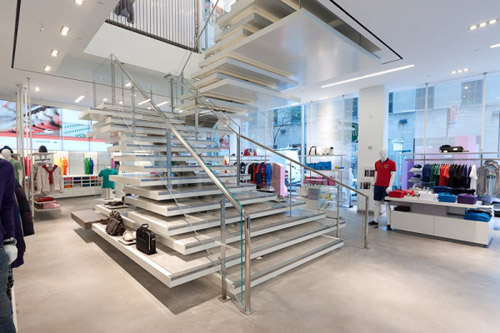 Lacoste fashion design shop New York