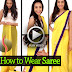 How to Wear Indian Saree 2015 - Best Idea to Drape Saree