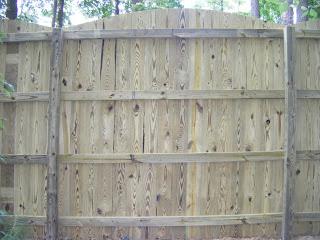 Деревянный забор. Фото 43