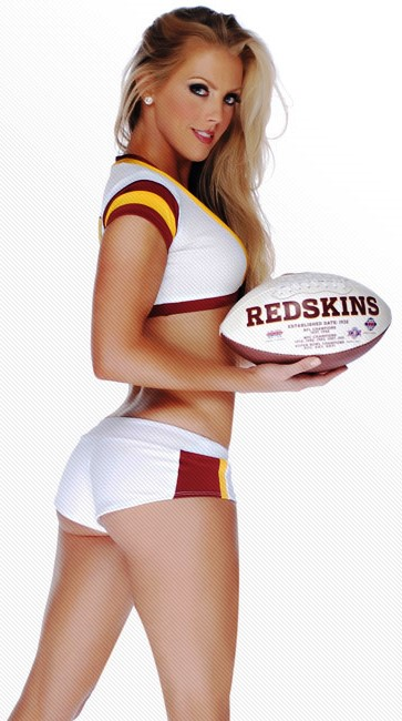 Beauty Babes 2013 Washington Redskins Nfl Season Sexy