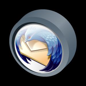Bot n 3d thunderbird iconos correo electr nico for Icono boton