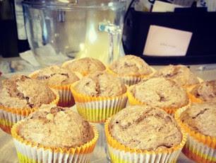 Sunday Peanut Butter Muffins