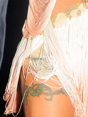 Cheryl Cole Tattoo Part 8