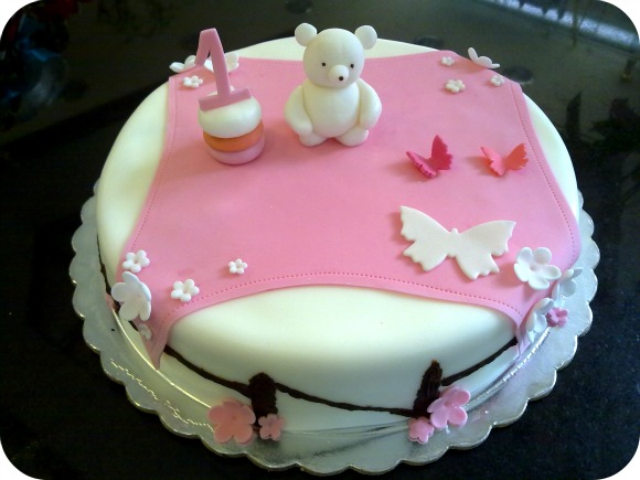 Baby 1 Year Old Girl Birthday Cake Cakes Gallery
