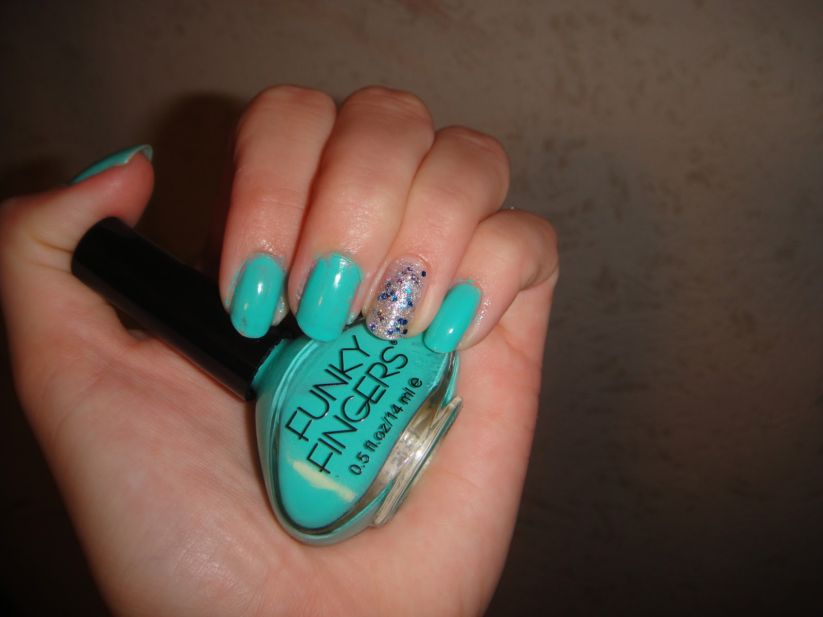 Funky Fingers Partly Cloudy from the Solar Collection Swatch and ...