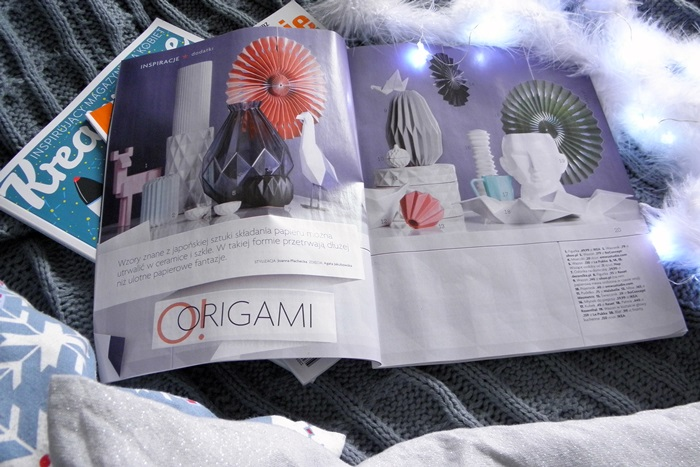 przegląd gazet | trend origami | levelupstudio