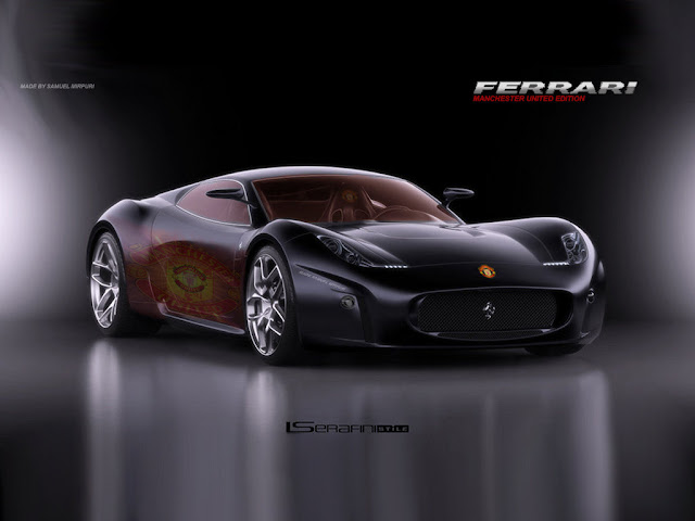 Ferrari Man Utd Wallpaper
