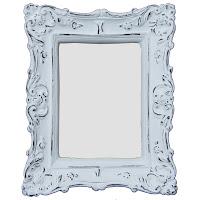 espelho provençal, espelho retangular, espelho romântico, espelho para hall, espelho para lavabo