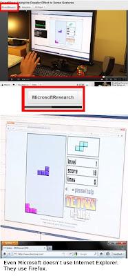 nicht einmal Microsoft nutzt Internet Explorer