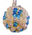Как сделать бисерный шарик?