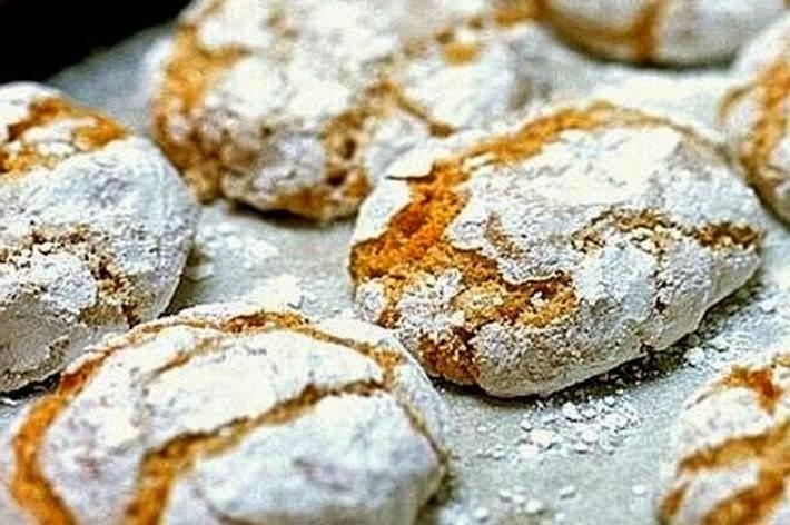 Итальянский десерт риччарелли